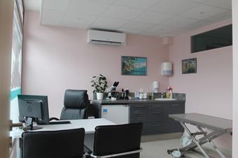 Salle de consultations, cabinet vétérinaire des 5 éléments